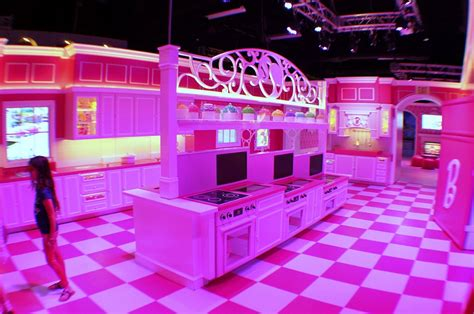 real barbie house world s first ever life size replica of barbie s dreamhouse opens as tourists flock to