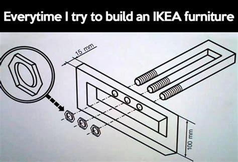 Ikea Furniture Meme - trying to build ikea furniture the meta picture