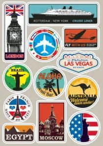 Koffer Aufkleber Kaufen by Kaufen Gro 223 Handel Luggage Labels Travel Stickers