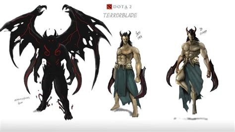dota  phoenix  terrorblade incoming gamersbook