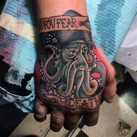 davy jones tattoo 60 davy jones designs for sailors ink ideas