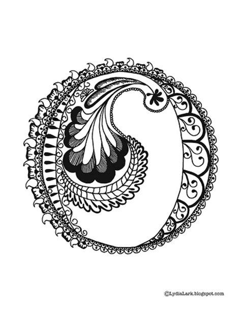 henna design letters lydia lark printable henna alphabet letter quot o quot
