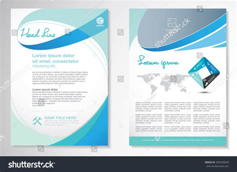 flyer design editor vector brochure flyer design layout template size a4