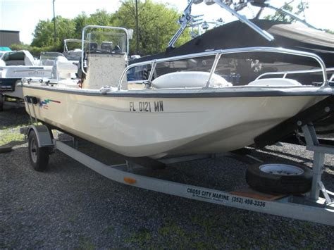 types of boats skiff used power boats center console boats for sale in