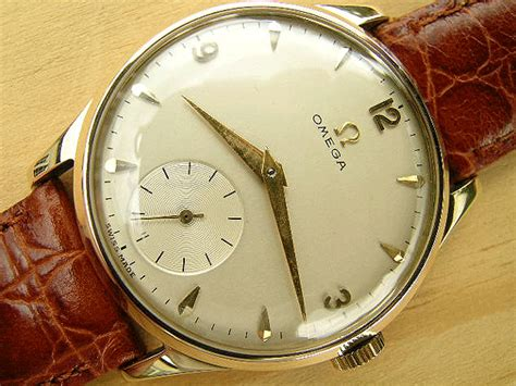 omega gold 1954 vintage watches watches
