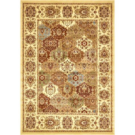 4 X 8 Area Rugs Unique Loom Agra 8 Ft X 11 Ft 4 In Area Rug 3136640 The Home Depot