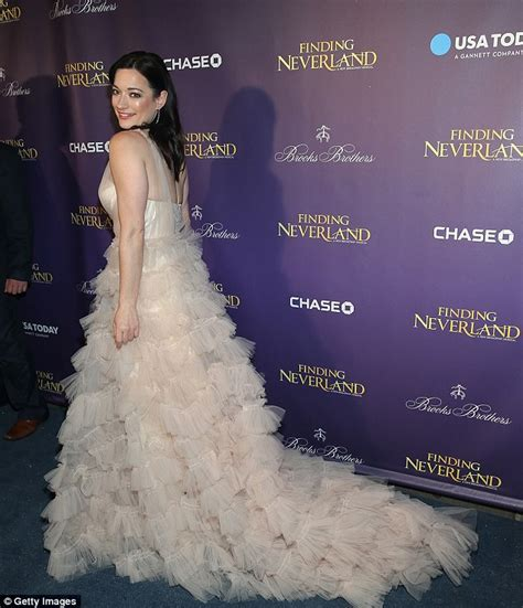 Who Wore Marchesa Better Morrison Or Snow by Wilde Stuns In Marchesa Gown As She Attends Finding