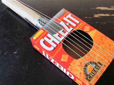 guitar craft for make a guitar or bango violin etc out of recycled