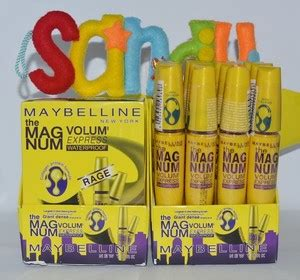 Maskara Maybelline Magnum Waterproof jual mascara maybelline maskara maybeline the magnum