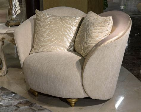 michael amini camelia sofa camelia luxury brightgold chair and a half by michael