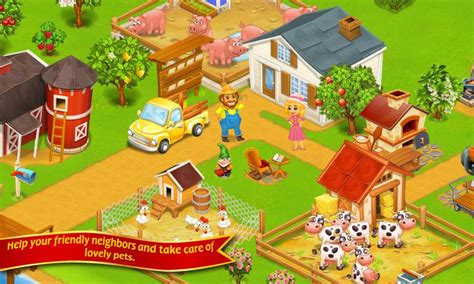 farm town happy city day story apk v1 89 mod unlimited gold for android