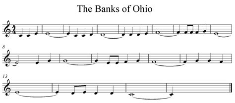 michael row the boat ashore deutsche version the banks of ohio