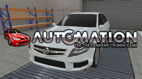 Automation   The Car Company Tycoon Game   PC   Camshaft