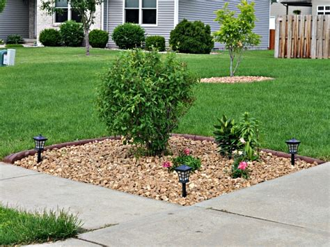 decorating large wall corner yard landscaping ideas driveway front yard landscaping with
