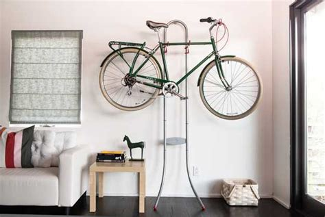 bike storage for small apartments 15 best way to store a bike in a small apartment modern