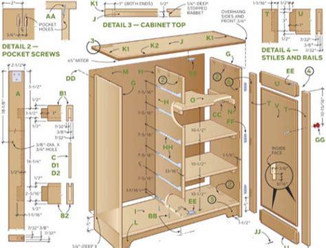 Wooden Garage Cabinet Plans