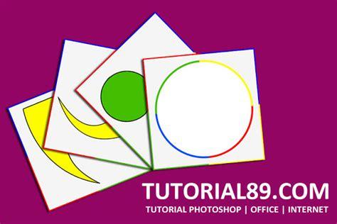vidio cara membuat cakram warna cara membuat efek stroke warna warni dengan photoshop