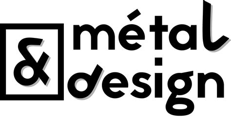 design a metal logo metal et design