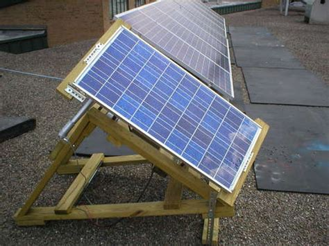 diy solar home green power easy to diy solar panel stand