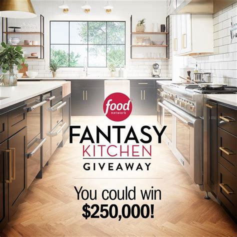 food network kitchen sweepstakes 2018 julie s