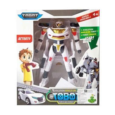 Mainan Anak Mobil Baterai Polisi Indonesia Putih Harga Murah jual momo tobot y transformer robot mobil mainan anak putih harga kualitas terjamin