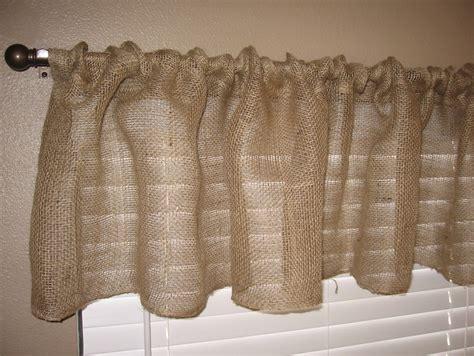 hour burlap kitchen curtain tutorial graceful