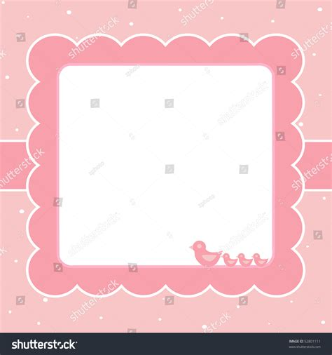 blank card stock templates blank template for greetings card in pink colors stock