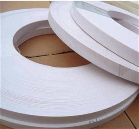 wallpaper edge tape buy white high clear pvc edge banding for plywood or mdf