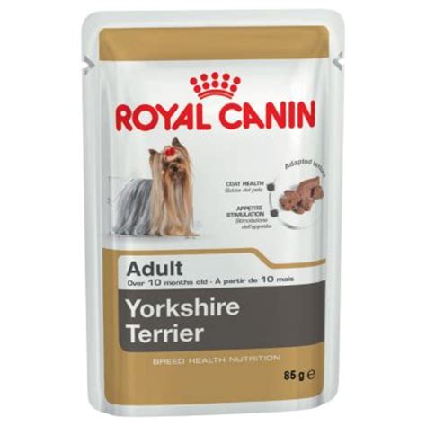 yorkie food brands royal canin breed terrier food top deals at zooplus