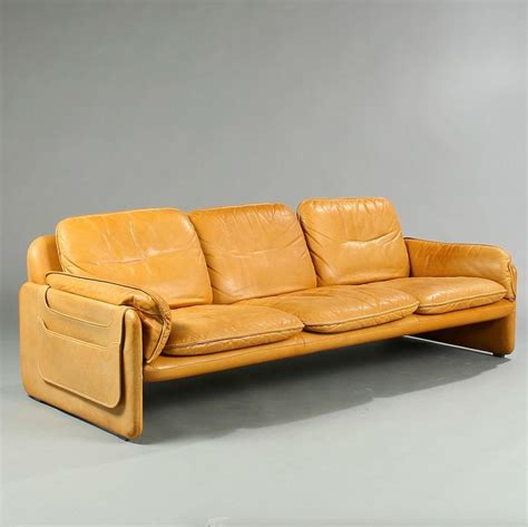 1970s leather sofa anonymous ds61 leather sofa by de sede 1970s couched
