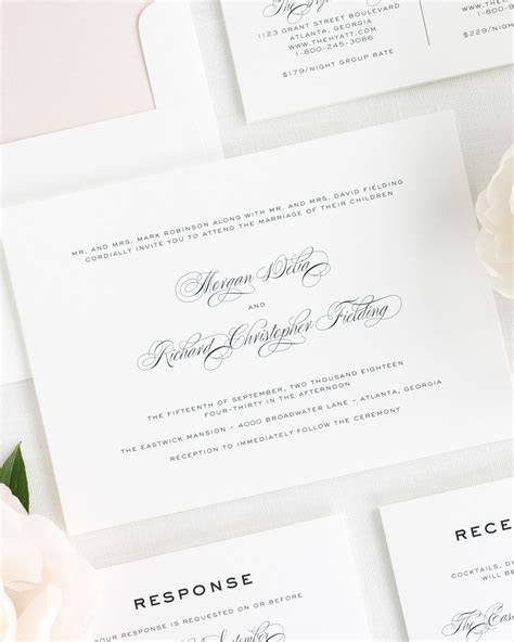 Wedding Invitations Classic by Classic Vintage Wedding Invitations Wedding Invitations
