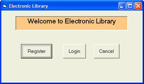 form design for library management system in vb create an electronic library in visual basic