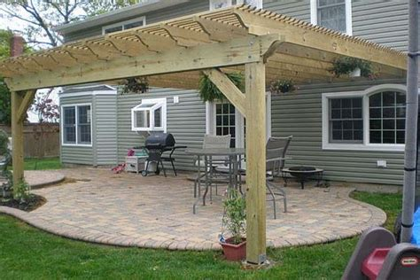 woodwork how to build a pergola on a deck pdf plans