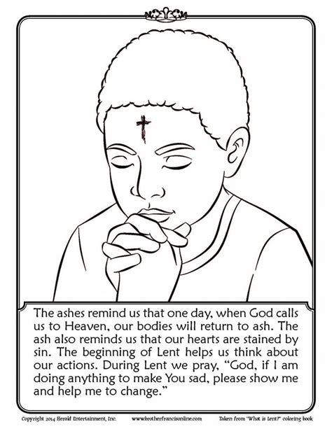 Coloring Pages For Lent free coloring pages of lent for children