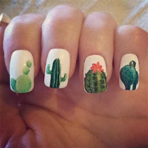 Nail And More by These Cactus Nails Pinteres