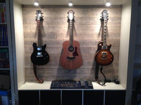 guitar armoire expedit guitar display ikea hackers