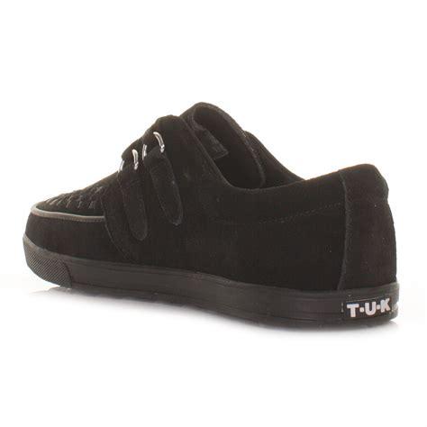 tuk shoes tuk shoes black mens unisex rocker sneaker creepers flat