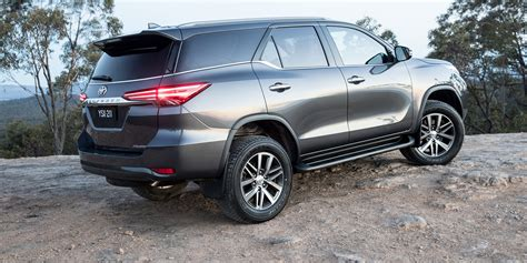 toyota price 2018 toyota fortuner pricing and specs photos