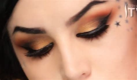 eyeshadow tutorial watch me the monarch eyeshadow makeup tutorial by kat von d