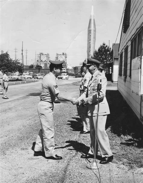 by order of the commander wright patterson air force base the beginning lee humiston with his commander at wright
