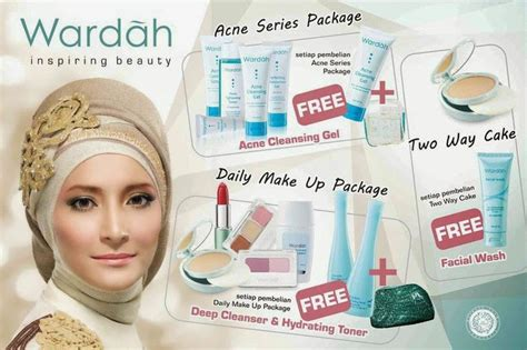 Alat Make Up Merk Wardah daftar harga terbaru dan bekas