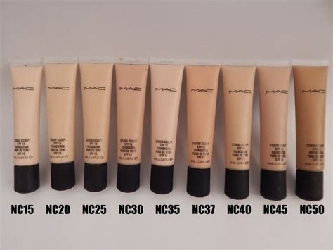Foundation Mac Original 40ml mac studio sculpt foundation various shades available