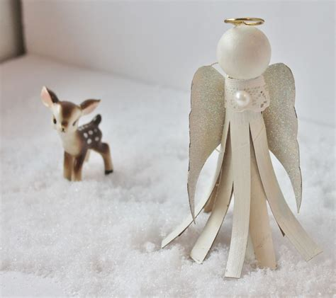 hometalk toilet paper tube angel ornament
