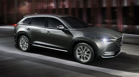 2016 mazda cx 9 revealed with new 2 5 turbo engine