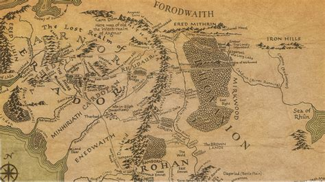 middle earth map more in heaven and earth populations of middle earth