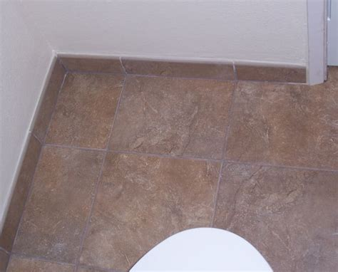Tile Bathroom Floors by Before And After Pictures Bathroom Floor Tile And Vinyl