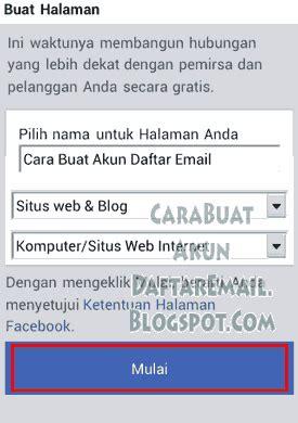 cara membuat email yahoo facebook lewat hp 5 menit cara membuat fanspage halaman facebook lewat hp