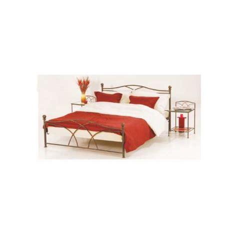 lit fer forge tina 140 x 190 les meubles du chalet