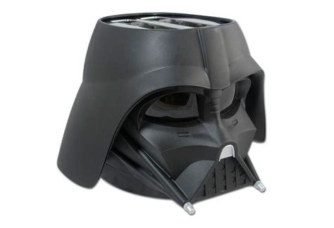 design darth vader helmet darth vader toaster the crisp side of star wars served