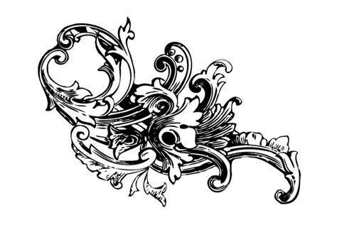 free baroque design elements vector 250 free vintage graphics flourish vector ornaments